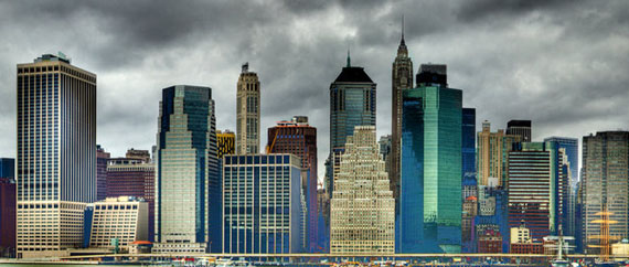 Manhatten-Panorama-hdr 30 Incredible HDR Photos of New York City