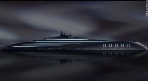yacht-2 Plans for the World's Largest Yacht