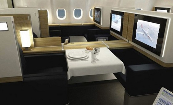 SwissAir The Most Extravagant First Classes