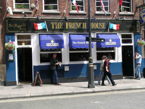 the-french-house-london Top Historical London Pubs