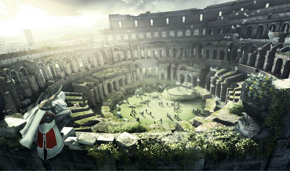Assassins-Creed-Roman-Colosseum Real Locations Around the World Found in Video Games