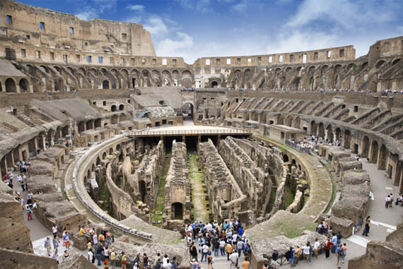 Real Roman Colosseum Real Locations Around the World Found in Video Games