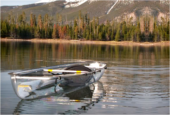 transparent canoe 1 Transparent Kayak