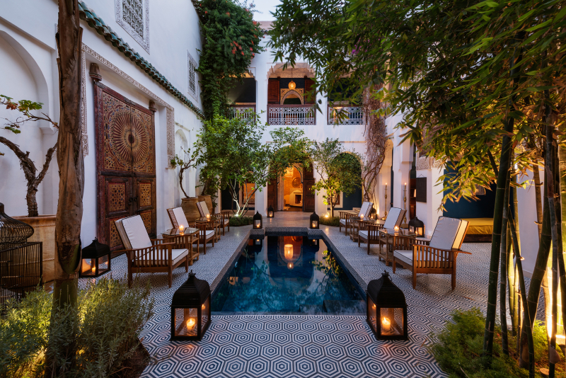 Beautiful moroccan riads part 1 for Best riads in marrakesh