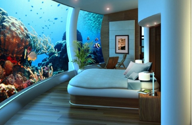 aqua_atlantis_bed Live the life aquatic in these unique hotels